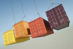 Cargo Containers carrying products globally