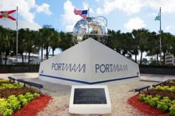 Port of Miami Sign