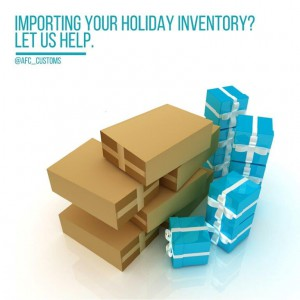 holiday inventory imports help