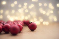 Christmas decorations and lights