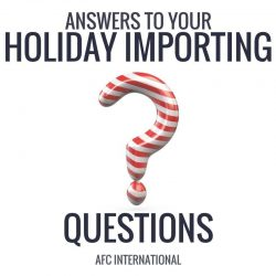 Holiday importing guide feature photo