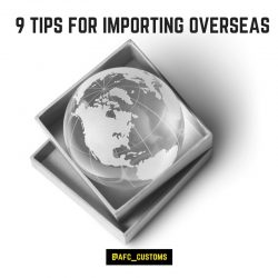importing overseas map
