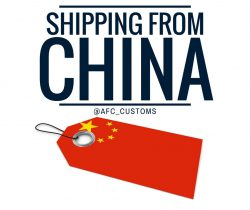 shipping imports from China image