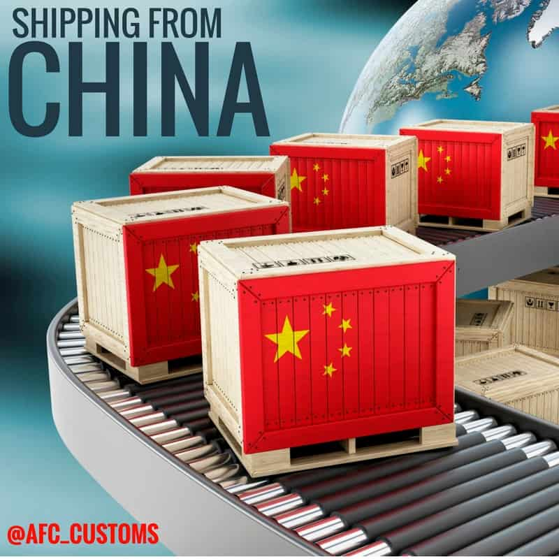 shipping imports from China feature image