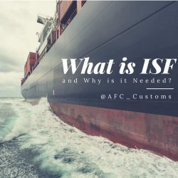 What is ISF and Why is it Needed?
