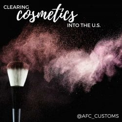 Clearing Cosmetics into the U.S.