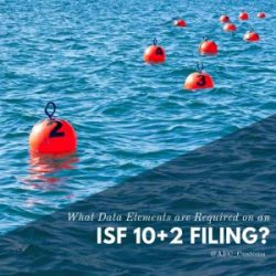 ISF 10+2 filings