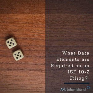 Required Data Elements