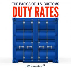 us customs duty rates