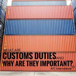 what are customs duties
