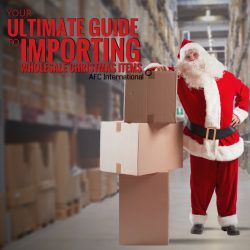 importing wholesale Christmas items